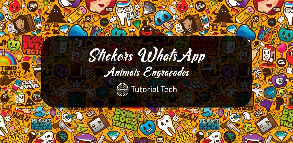 [Download] Sticker para WhatsApp |2# Animais Engraçados